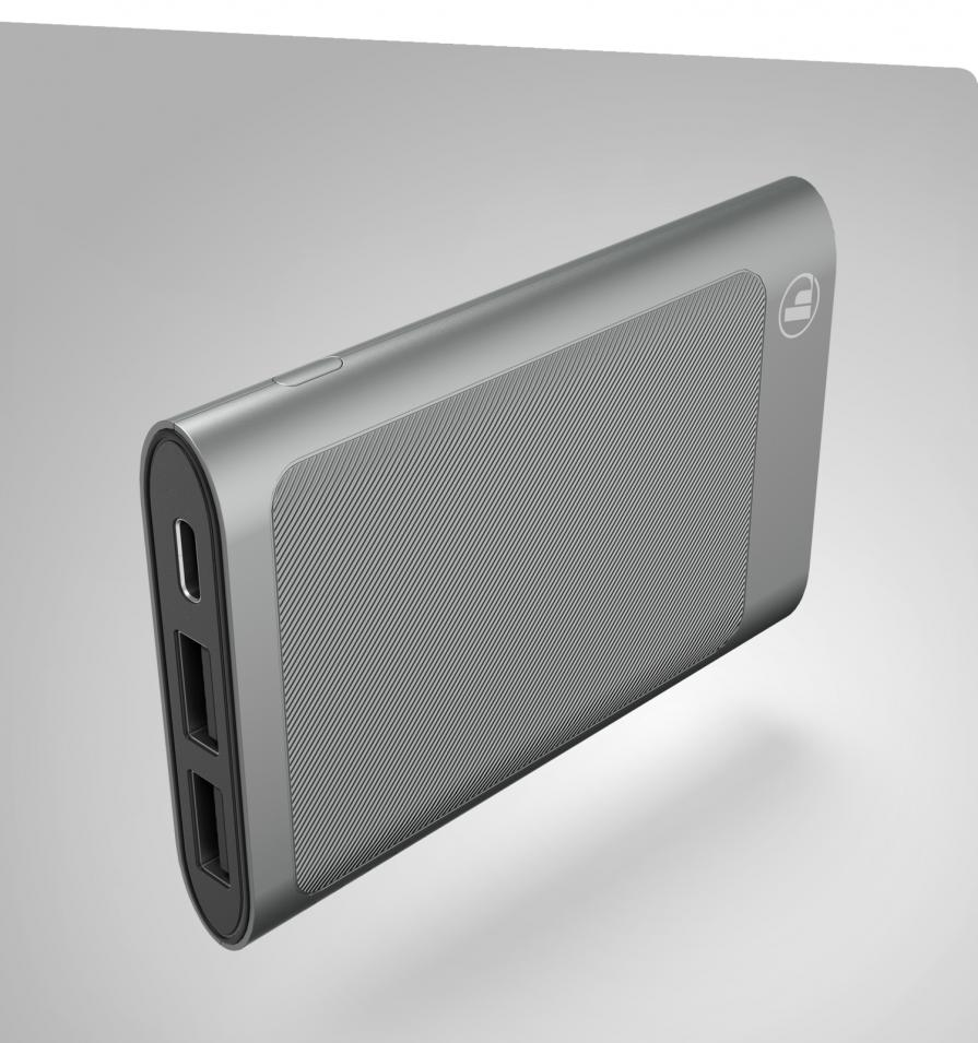 "Power Pack  ""HD"" 5000 mAh, Antracyt Hama"