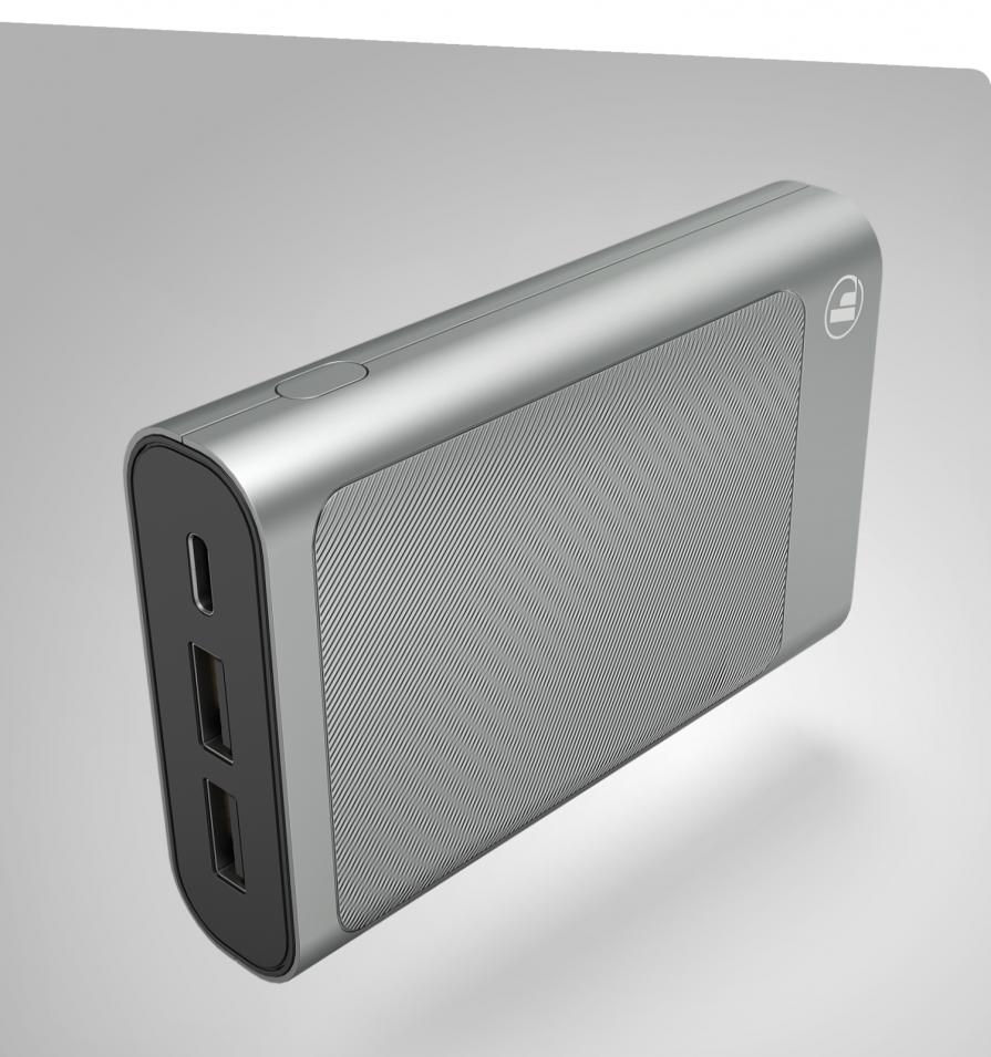 "Power Pack  ""HD"" 10000 mAh, Antracyt Hama"